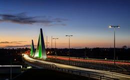 Puente de Odins Fotografía de archivo libre de regalías