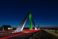 Puente de Odins Imagen de archivo libre de regalías