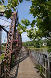 Puente de Ohio Fotografía de archivo libre de regalías