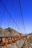 Puente de Ojuela Imagen de archivo libre de regalías