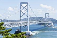 Puente de Onaruto fotografía de archivo libre de regalías