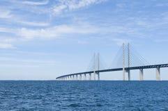 Puente de Oresund Fotos de archivo