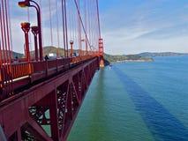 Puente de oro Fotos de archivo libres de regalías