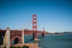 Puente de oro de San Francisco Imágenes de archivo libres de regalías