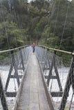 Puente de oscilación Fotos de archivo
