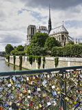 Puente de París Imagen de archivo