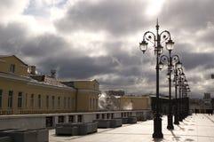 Puente de Patriarshiy imagen de archivo