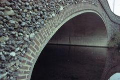Puente de Pebbled Fotos de archivo libres de regalías