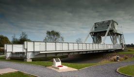 Puente de Pegasus en Francia Imagen de archivo libre de regalías