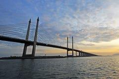 Puente de Penang foto de archivo
