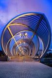Puente de Perrault en la noche Imagen de archivo