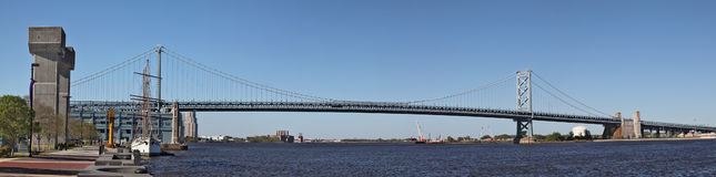 Puente de Philadelphia Fotografía de archivo