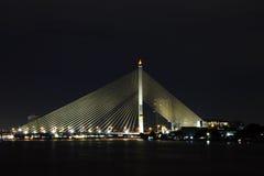 Puente de Phra Rama 8 Fotografía de archivo