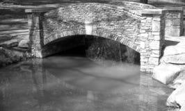 Puente de piedra Fotografía de archivo