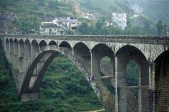 Puente de piedra Imagen de archivo libre de regalías