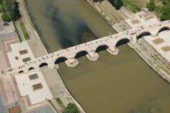 Puente de piedra Fotografía de archivo libre de regalías