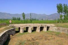 Puente de piedra en las tumbas reales del este de Qing Dynasty, ji Imagen de archivo libre de regalías