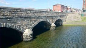 Puente de piedra en Newcastle Imagen de archivo libre de regalías