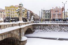 Puente de piedra en Sofía, Bulgaria Imágenes de archivo libres de regalías