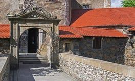 Puente de piedra histórico Imágenes de archivo libres de regalías