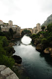 Puente de piedra, Mostar Foto de archivo libre de regalías