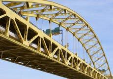 Puente de Pitt de la fortaleza imágenes de archivo libres de regalías