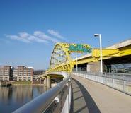 Puente de Pittsburgh Imagen de archivo libre de regalías