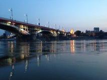 Puente de Poniatowski Imagen de archivo libre de regalías