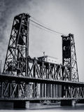 Puente de Portland foto de archivo