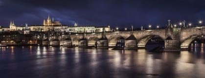 Puente de Praga Charles Imagen de archivo libre de regalías