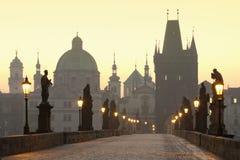 Puente de Praga Charles foto de archivo libre de regalías