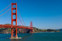 Puente de puerta de oro Fotos de archivo libres de regalías