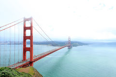 Puente de puerta de oro Foto de archivo libre de regalías