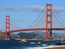 Puente de puerta de oro Foto de archivo