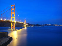 Puente de puerta de oro de San Francisco Imágenes de archivo libres de regalías