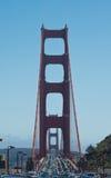 Puente de puerta de oro en San Francisco Imagen de archivo