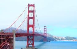 Puente de puerta de oro en San Francisco, California imagen de archivo