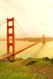 Puente de puerta de oro. San Francisco Imagen de archivo