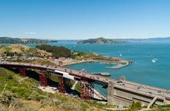 Puente de puerta de oro - San Francisco imagenes de archivo
