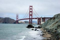 Puente de puerta de oro San Francisco Fotografía de archivo