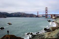 Puente de puerta de oro San Francisco Fotografía de archivo libre de regalías