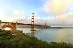 Puente de puerta de oro, San Francisco, California Imágenes de archivo libres de regalías