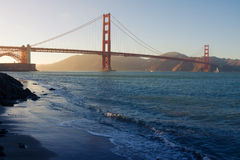 Puente de puerta de oro, San Francisco, California, los E Fotos de archivo libres de regalías