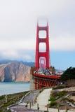 Puente de puerta de oro, San Francisco, California, los E Imagenes de archivo