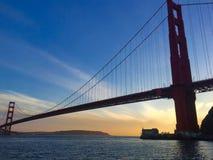 Puente de puerta de oro, San Francisco, California, los E Imagen de archivo
