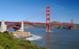 Puente de puerta de oro y fortaleza Po Imagen de archivo libre de regalías