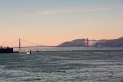 Puente de puerta de oro en San Francisco imágenes de archivo libres de regalías