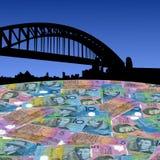 Puente de puerto de Sydney Imágenes de archivo libres de regalías