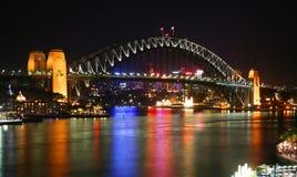 Puente de puerto de Sydney, Australia foto de archivo