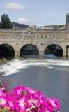 Puente de Pulteney   fotos de archivo